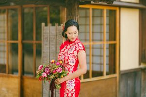 what to wear to an asian wedding red wedding dress